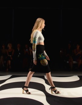 pineapple girls NICOLE MILLER SPRING 2015 FASHIONDAILYMAG SEL 1