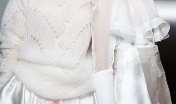 Antonio Berardi SS15, backstage (Sam Wilson, British Fashion Council) 14 fashiondailymag