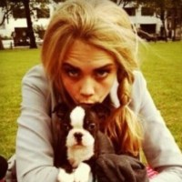Cara Delevingne for Animal Rescue