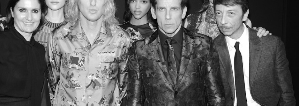VALENTINO surprise ZOOLANDER 2 announcement