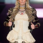 DSquared2 fall 2015 FashionDailyMag sel lily donaldson