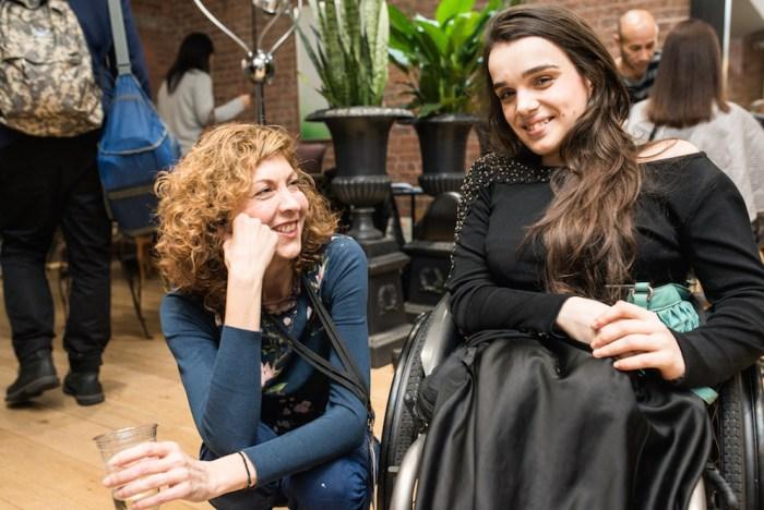 brigitte segura Alexandra Kutas hydrohair launch nyc paul terrie