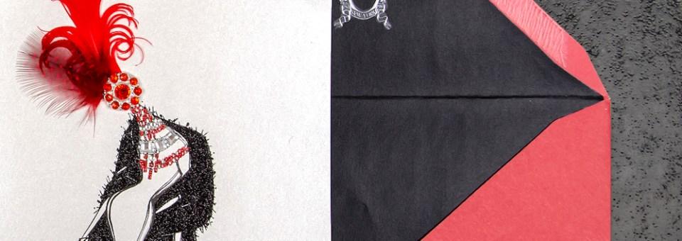 Zang Toi x Papyrus fashion cards