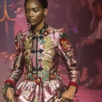 GUCCI babes on the runway