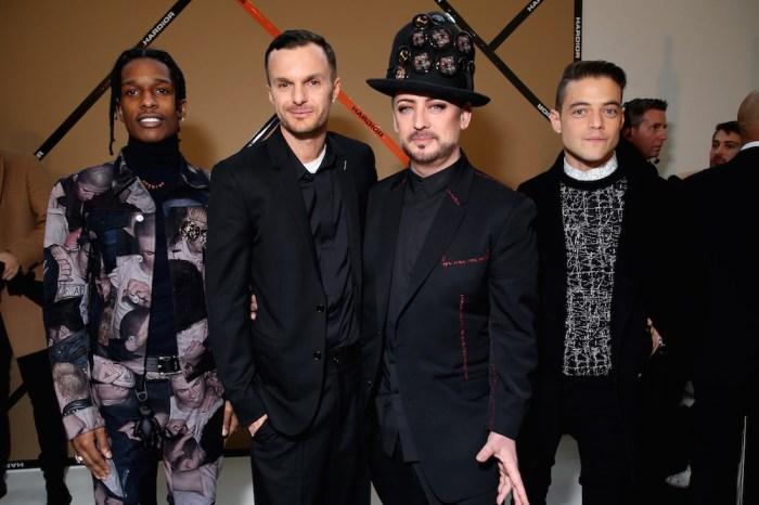 Asap Ferg & Asap Rocky & Kris van Assche & Boy George & Rami Malek_Saskia Lawaks pour Dior Homme