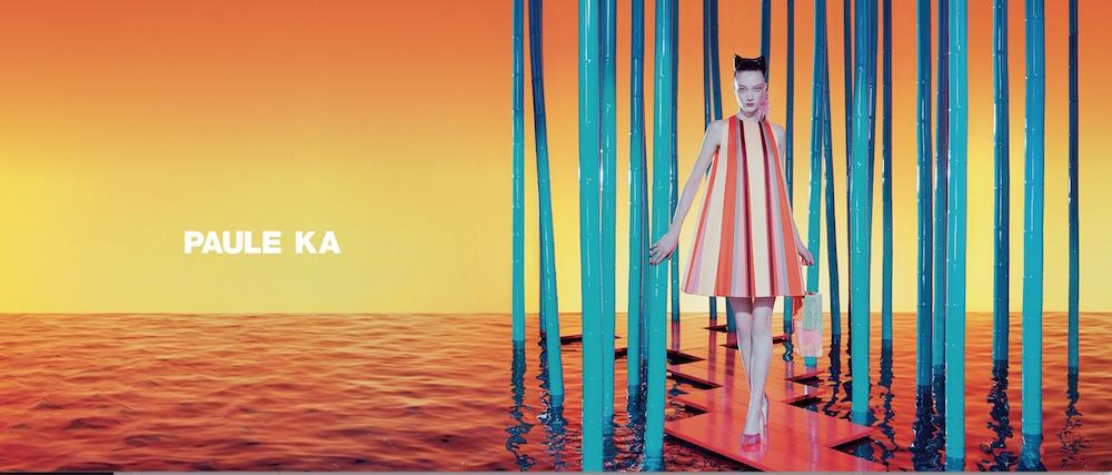 paule ka ss17 campaign by miles aldridge yumi lambert FashionDailyMag 4