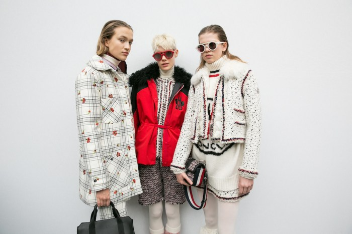 MONCLER GAMME ROUGE FW17 PFW FASHIONDAILYMAG 12
