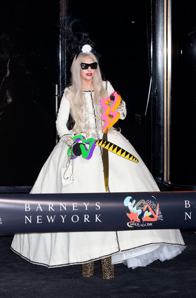 Lady Gaga at Barneys