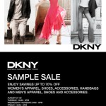 DKNY hosts first ever sample sale starting August 21st