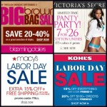 Labor Day Sales 2012 round up: Steals and deals