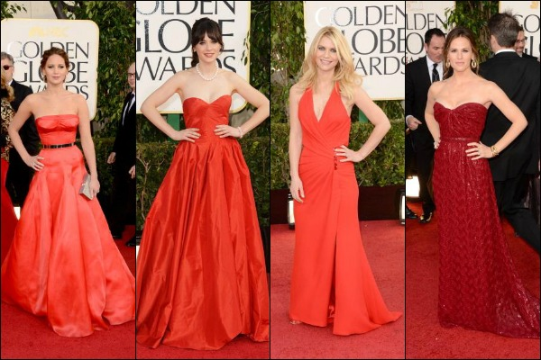 Golden Globes 2013 Red Carpet Fashion