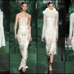 Monique Lhuillier Fall 2013 collection: Opulence meets drama