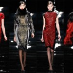 Reem Acra Fall 2013 collection: A nod to Japan