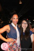 Amanda Brugel (Michelle Jones in Seed) at Mingle for a Mission