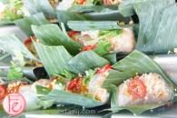 Trios Bistro- tiger prawn rolls