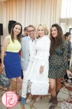 Vicky Milner, Glenn Dixon, Suzanne Rogers, Defne Husrevoglu - 1st CAFA Canadian Arts & Fashion Awards