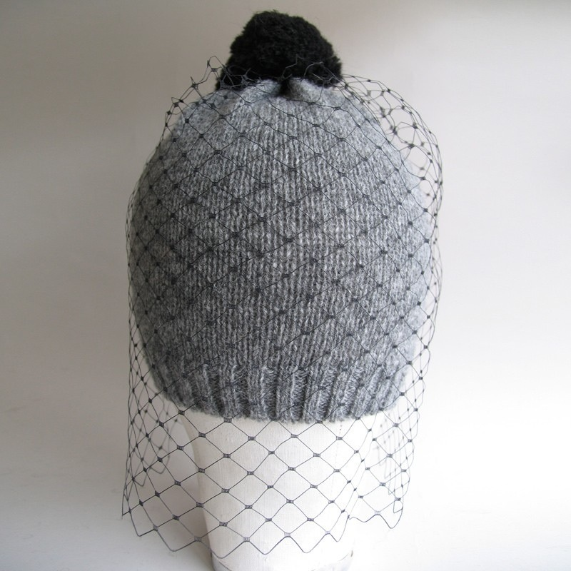 bernstock spiers veiled beanie hat