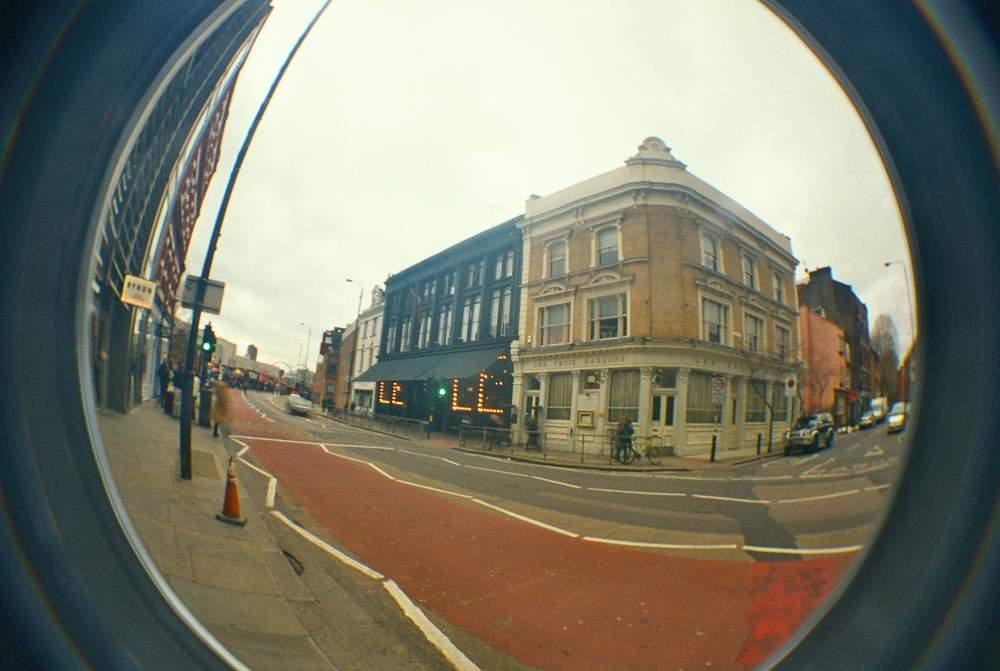 east london fisheye camera lomo