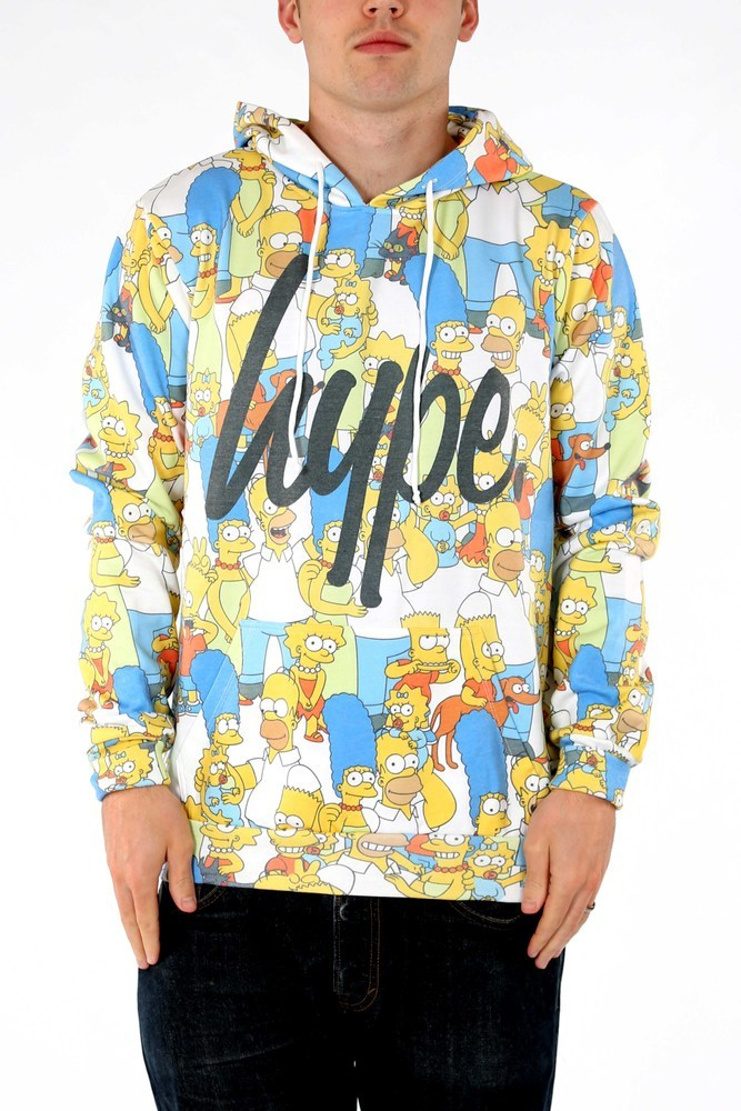 hype x the simpsons collaboration tee shirt cool menswear fashion blog blogger