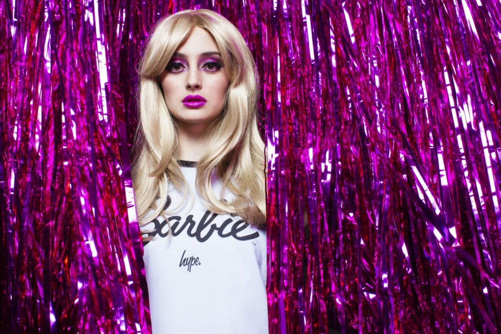 hype x barbie collectionation collection tee shirt