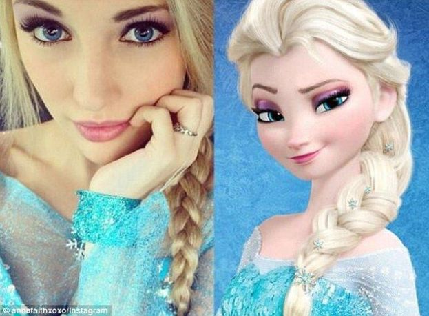 best halloween costumes: frozen queen elsa DIY
