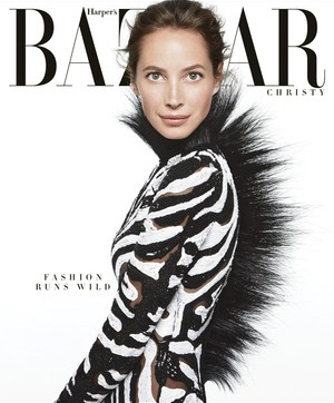 US Harper's Bazaar June : July 2013 - Christy Turlington by Daniel Jackson