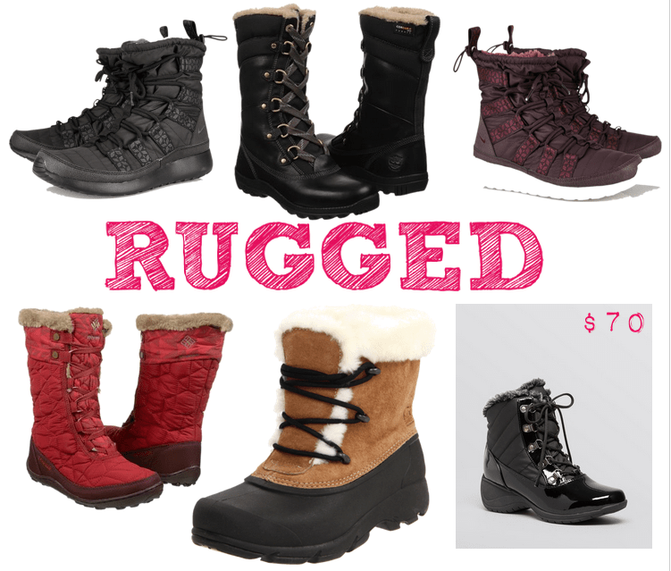 Rugged Winter Boots