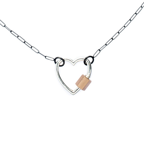 marla-aaron-sterling-silver-14k-rose-gold-heart-lock-necklace_large