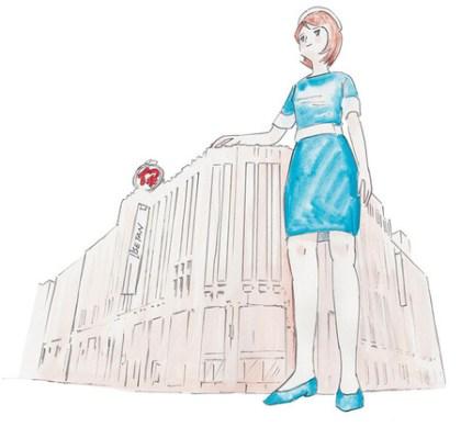 伊勢丹新キャラクター「デパガちゃん」デビュー、オンラインストアやSNSで