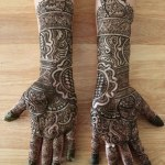 Beautiful Mehndi designs for bridal (8)