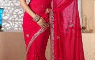 Indian Stylish saree dress for girls (6)