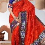 Indian Stylish saree dress for girls (7)