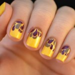 Yellow Nails for women 2013 (8)