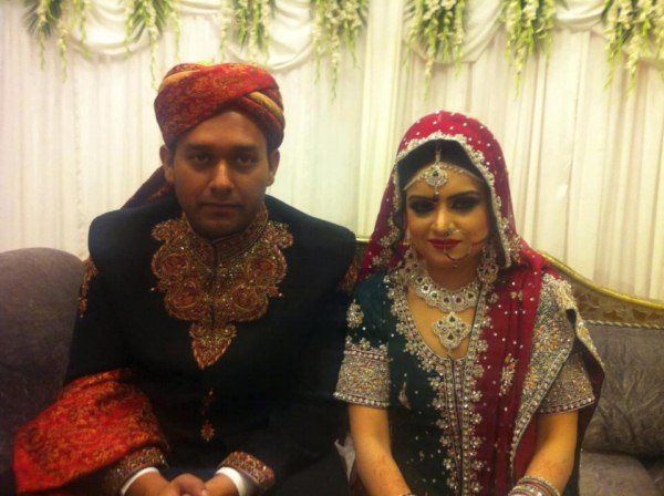 Geo News Anchor Samina Ramzan Wedding Pictures (9)