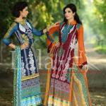 Blossom by Lala Textile Latest Eid Lawn Collection 2013 004