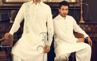 Bonanza Eid Kurta Men Wear Shalwar 2013 (4)