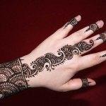 Easy and stylish Mehndi Designs 2013