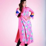 Grapes Flower Print kurta collection 2013-2014 for girls and women (6)