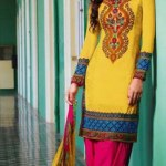 Kaneesha casual wear dress collection 2013-2014 for women and girls (5)