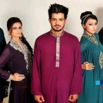 Satrangi by saqib formal wear collection 2013 for men and women (12)