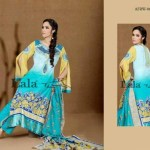 Afreen By Lala Embroidered Winter Dresses 2013 For Women and Girls (5)