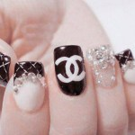 Fall 2013 Beautiful Black Style Nails Design Collection (6)