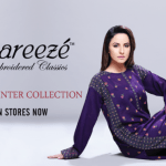 Bareeze Embroidered Winter Collection 2013-2014 for women