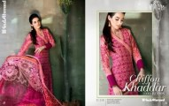Gul Ahmed Fancy Embroidered Khaddar FallWinter Collection 2013 Vol-2 (14)