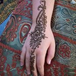 Lovely Kids Mehndi Henna tattoos Hand and feet Designs Collection (1)