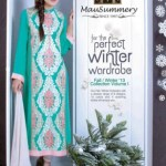 Mausummery Winter Dresses For Women Collection 2013-14