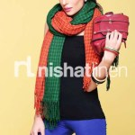 Nishat Linen Best Winter Shawl Collection 2013-14 for Girls