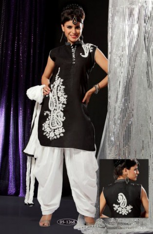 Patiala Shalwar Kameez Fancy Dresses For Punjabi Women (5)