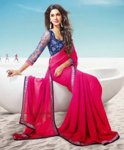 Bollywood Movie Rajkumar Saheli Couture Elegance Stylish Luxury Saree (3)