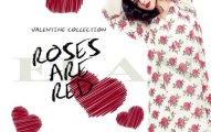 Women Valentine Day dresses red collection